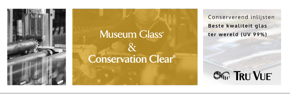 Conservation clear museum glas